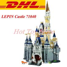 2016 New LEPIN 16008 4080Pcs Cinderella Princess Castle Model Building Kit Minifigure Blocks Brick Compatible Girl Toy Gift 7784