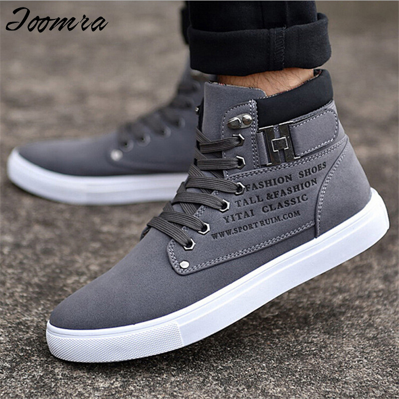 Hot Sale Men Shoes Fashion Warm Fur Winter Man Boots Leather Footwear New High Top Canvas