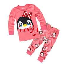 851fd94a5d032 Pas cher Bébé Garçons Filles Pyjamas Enfants À Manches Longues Vêtements  Décontractés Ensemble Body Enfants de Bande Dessinée Ga.