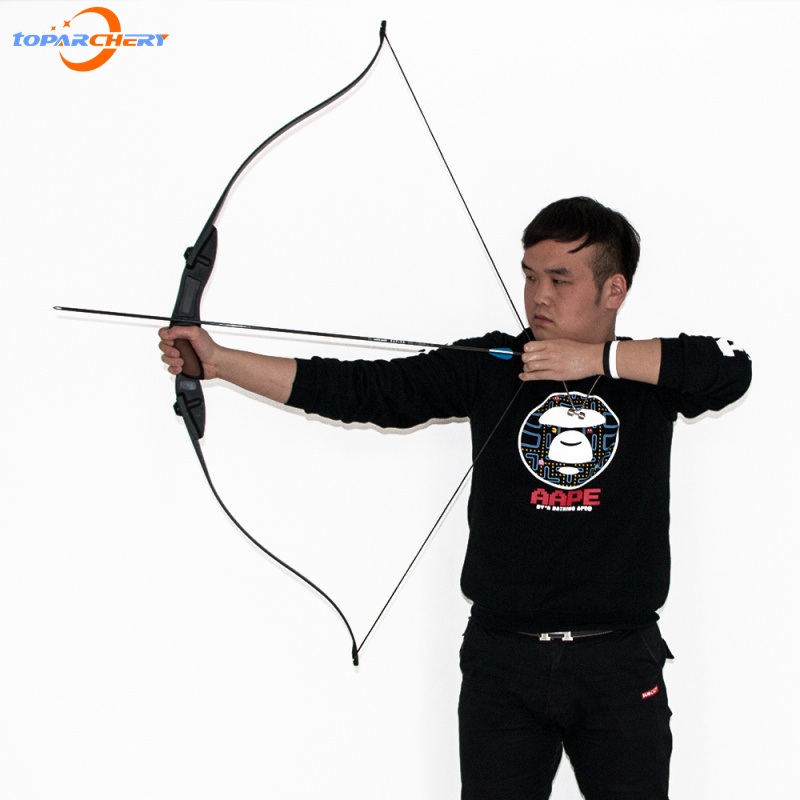 1 piece Takedown Recurve long Bow Archery Left and Right Hand Archery Hunting Shooting for CS Games Free shipping 1 piece hotsale black snakeskin wooden recurve bow 45lbs archery hunting bow