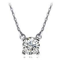 S простое ожерелье с натуральным цирконом модные ювелирные изделия