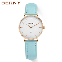 Female Simple Face Watches With Day Date Bracelet Watches For Ladies Rose Gold Cheap Womens Watches