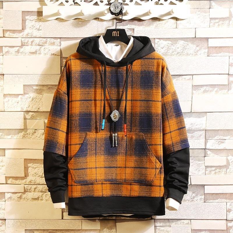 22 Style Autumn Spring 2020 Hoodie Sweatshirt Mens Hip Hop Punk Pullover Streetwear Casual Fashion Clothes Plus Asian Size M-5XL