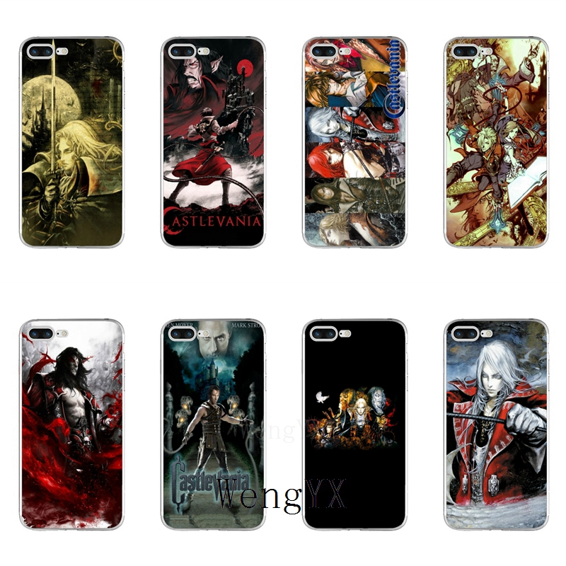 WengYX anime tv show series Castlevania Slim Soft phone case For Xiaomi Mi 6 6X A1 5 5s 5x mix max 2 Redmi Note 4 5 5A pro plus image