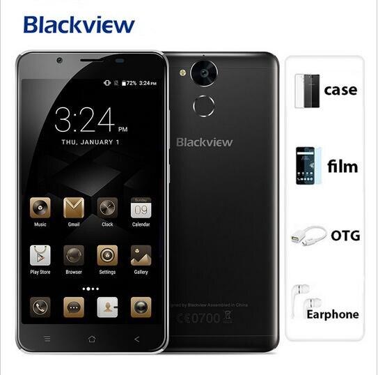 2017 nueva blackview p2 lite 6000 mah 3 gb ram 32 gb rom móvil teléfono IDENTIFI