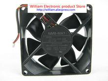 Original NMB 3110RL-04W-S59 F02 DC12V 0.33A 80*80*25MM 8cm Alarm Signal Projector cooling fan