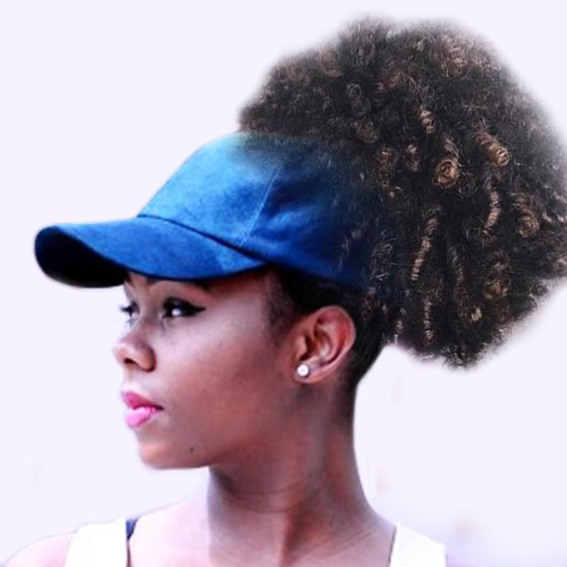 26a817b63e1 MNKNCL Women s Half Empty Top Sunshade Baseball Cap Ponytail Cap Summer  Messy Bun Sports Hat Women Caps-in Baseball Caps from Apparel Accessories  on ...
