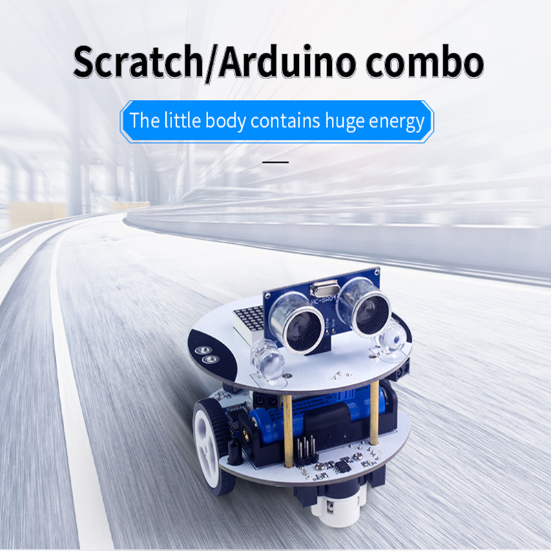 Robot Arduino Scratch DIY Qbot Programming Inteligent Remote Control Car Models RC PartsRobot Arduino Scratch DIY Qbot Programming Inteligent Remote Control Car Models RC Parts