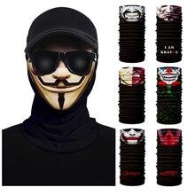 Cosplay Party Masks Snowboard Scarf Collar Neck Warmer Face Mask Bandana Ski Balaclava Headband Purge Superhero