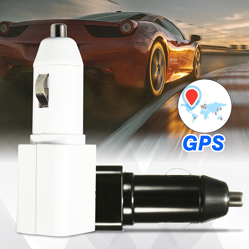 KROAK Mini <font><b>Car</b></font> <font><b>Charger</b></font> For Cell Phone Locator GPS <font><b>GSM</b></font> Vehicles Tracker Real Time Monitoring Anti-Theft Devices