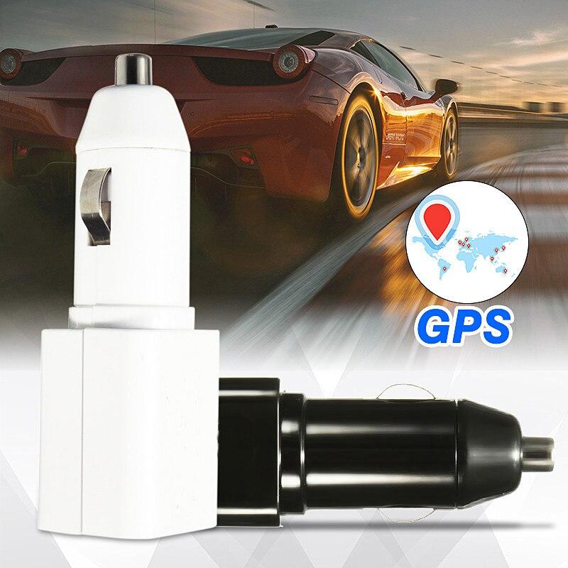 Kroak мини-автомобиль Зарядное устройство для сотового телефона локатор GPS <font><b>GSM</b></font> трекер транспортных средств контроля в реальном времени Anti-theft у&#8230;
