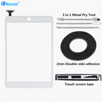 Netcosy Touch Screen Digitizer Panel Repair Parts For IPad Mini 1 2 Touch Panel 2mm Adhesive