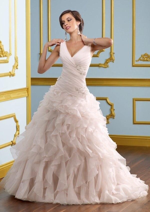 Popular Light Pink Ball Gown Wedding Dress-Buy Cheap Light Pink ...