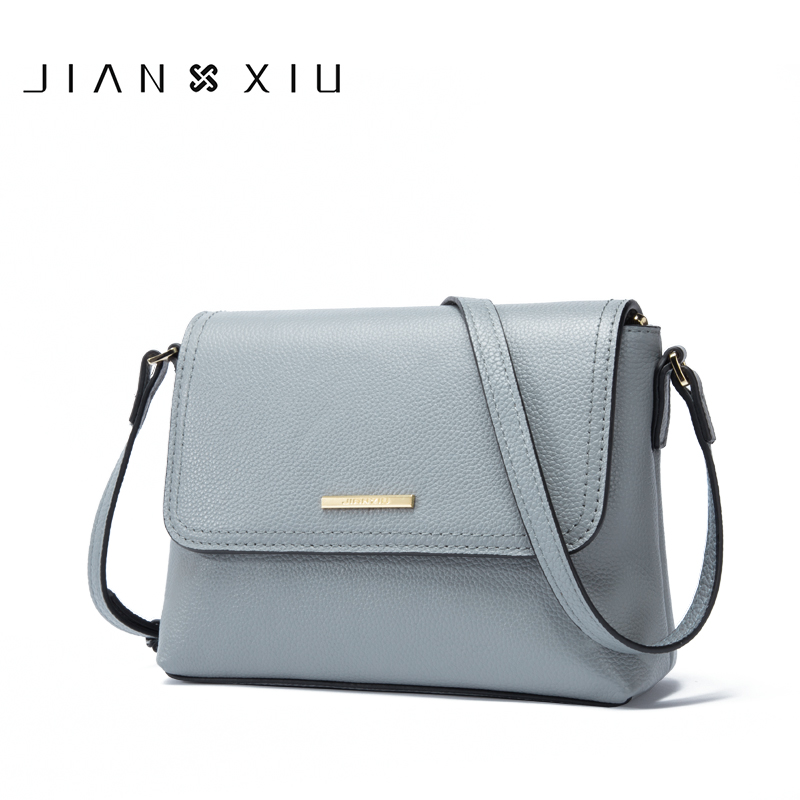 JIANXIU Brand Women Messenger Bags Genuine Leather Bag Female Shoulder Crossbody Bags For Women Purse 2018 New Female Small Bags