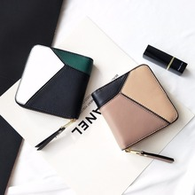 LYDZTION Women Mini Wallets Female Tassel Pendant Short Money Wallets PU Leather Lady Zipper Coin Purses Fashion Card Holders