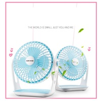 USB DC5V Mini Electric Fan Portable 2 Gear USB Electric Fan For Students Office Travel High Quality Easy Operation