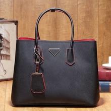 2016 Genuine Leather Luxury Handbags High Quality Women Bags Designer Fashion Famous Brands Shoulder Ladies Sac Pra