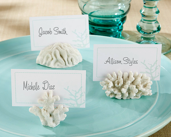 Fast Delivery! Factory Directly Sale Wedding Favor Seven Seas Coral Place Card/Photo Holder Wholesale