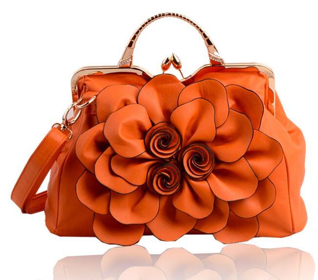 Летающие птицы, модные женские сумки, известные бренды, роскошные женские сумки через плечо, дамская сумка-тоут, Новое поступление, сумка LS4996fb - Цвет: orange women tote