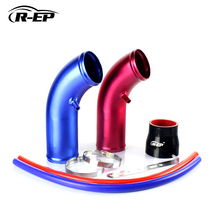 R-EP 3inch Universal Carro Ducting Transfer Engine air Hose Air Intake Pipe Inlet Hose Tube for 76mm Air Filter