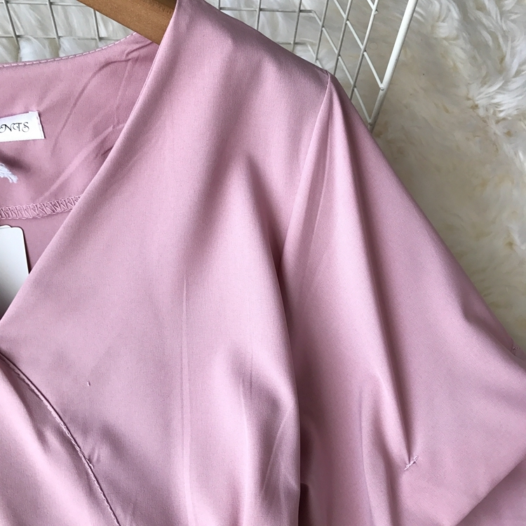 2109 Spring Women V-neck Puff Sleeves Blouse Slim Tunic Tops Retro Vintage Pullovers Busos Para Mujer Kimonos 86
