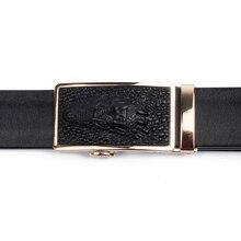 Men's Automatic Buckle Leather Belt