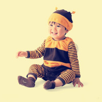 Infant Bebe Overalls 3pcs Set Halloween Baby Boy Clothes Newborn Baby Romper Clothing 3 18months Cotton
