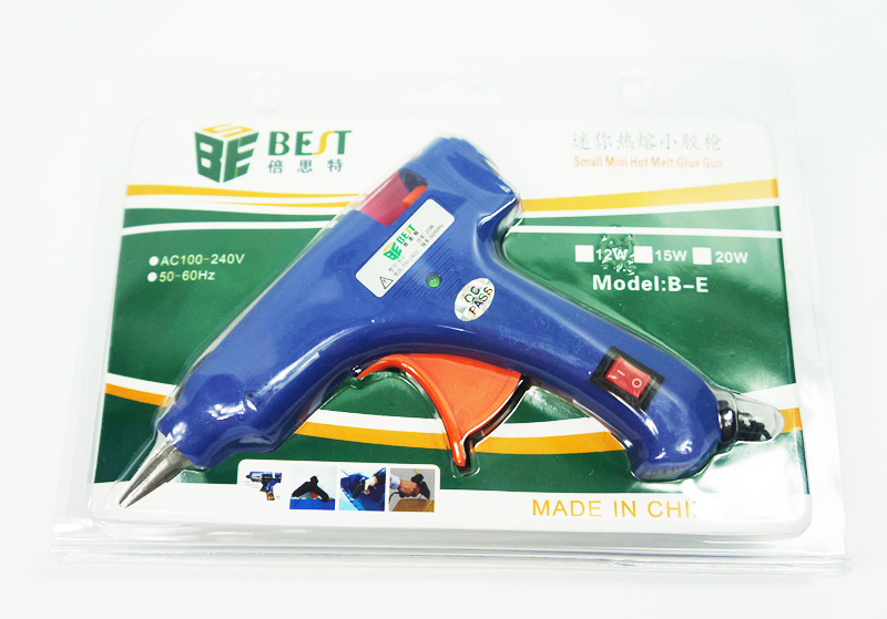Brand new Mini hot melt glue gun B-E for repairing,good quality and best price best price brand new for highscreen