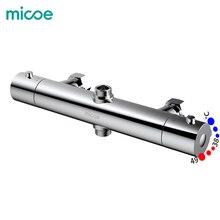 Micoe Термостатические Смесители для душа Ванная комната термостатический смеситель для горячей и холодной ванной смеситель смесительный клапан смеситель для ванной M-C105