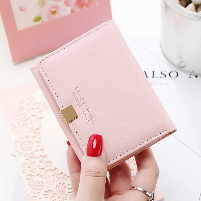 Fashion  Women Wallet Thin Mini Wallet Girl Purse Small Female Credit Card Holder Dollar Price dollar price women cute cat small wallet zipper wallet brand designed pu leather women coin purse female wallet card holder