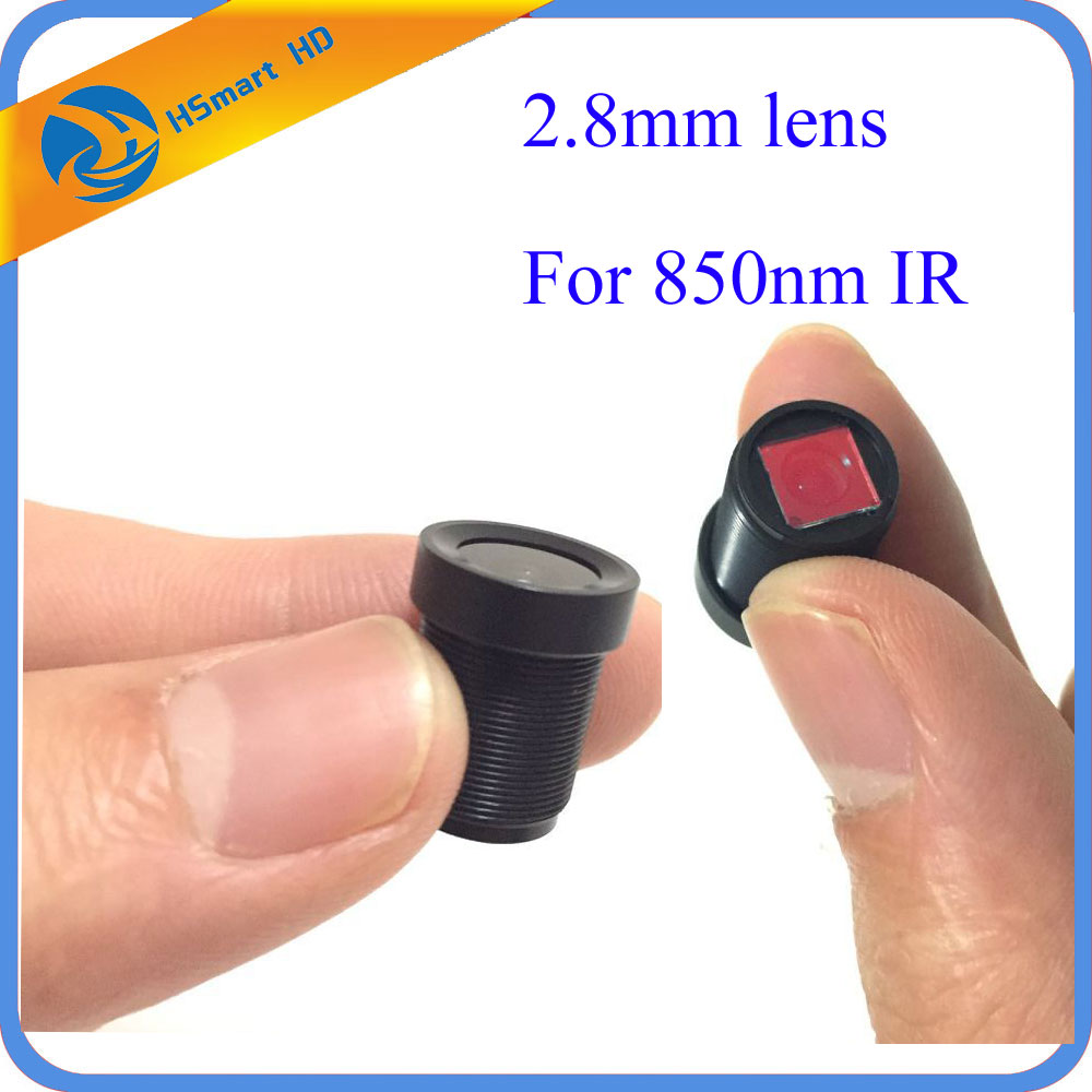 New Hot HD 2.8mm 120 Degree Wide Angle CCTV Lens 850nm IR Board for 1/3