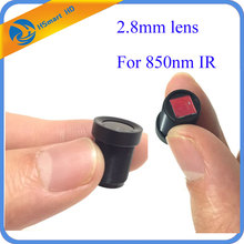 New Hot HD 2.8mm 120 Degree Wide Angle CCTV Lens 850nm IR Board for 1/3″ CCD 850nm IR Camera cctv dvr systems