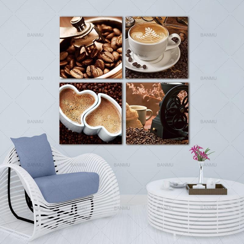 платно стена Picutres за всекидневна - Декор за дома - Снимка 4