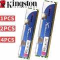 Verwendet Kingsto HyperX Desktop speicher 2 GB DDR3 1600 Mhz Modul 2X2 gb = 4 gb 4x2 gb = 8 gb RAM ECC DDR3 12800 1600 12800 RAM