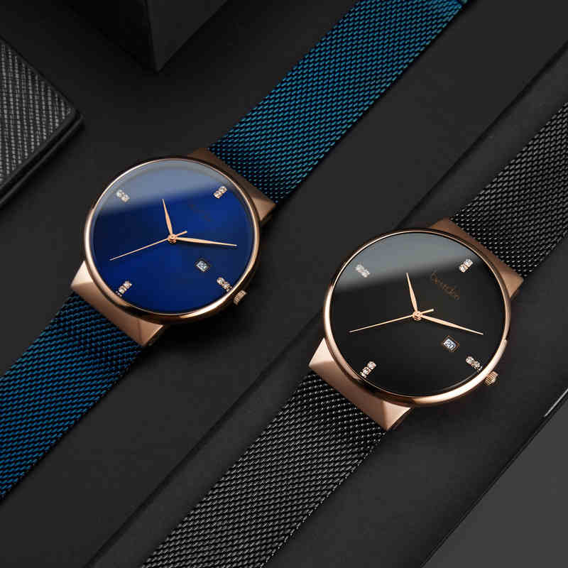 Bestdon New Top Luxury Watch Men Brand Men's Watches Ultra Thin Stainless Steel Mesh Band Quartz Wristwatch Fashion casual Clock new arrival 2015 brand quartz men casual watches v6 wristwatch stainless steel clock fashion hours affordable gift