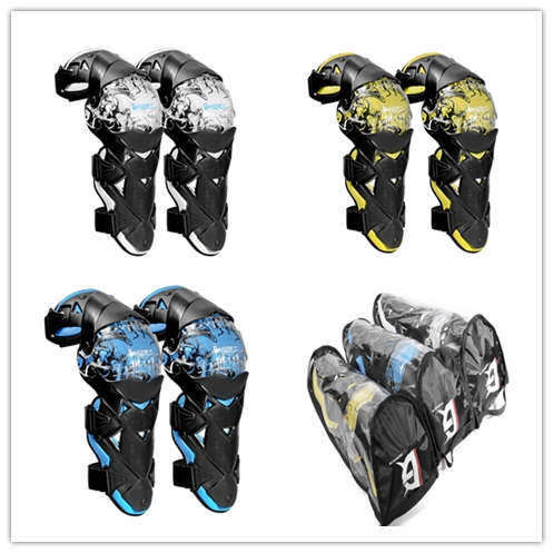 Ghost Racing knee Armor Knee Braces for motorcycle racing bicycle cycling riding outdoor sport Motorcycle Protective kneepad