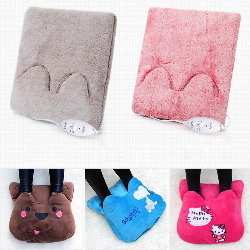 Foot Hand Warmer Heating Pad Slippers Electric Blanket Sofa Chair Warm Cushion Electric Heating Pads Warm Shoes Winter Warm