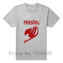 Fairy Tail Short Sleeve O Neck Man Cotton Shirt T-Shirt