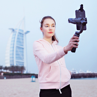 Zhiyun Smooth Q 3 Axis Handheld Gimbal Stabilizer For Action Camera Phone Iphone Gopro SJCAM Xiaomi