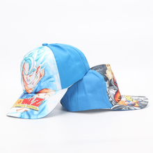 6ef9ac78624a8 Anime Dragon Ball Z Super Saiyan Son Goku Vegetto Baseball Cap Adjustable  Hip-Hop Snapback Hat ...
