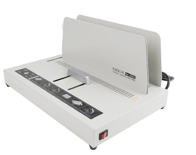 Electric Power Hot Melt Binding Book Binder Binding Machine For A4 220VElectric Power Hot Melt Binding Book Binder Binding Machine For A4 220V