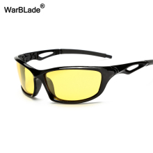 WarBLade, солнцезащитные очки ночного видения, очки для вождения, антибликовые поляризованные солнцезащитные очки, желтые линзы, защита от уф400 лучей, водительские солнцезащитные очки