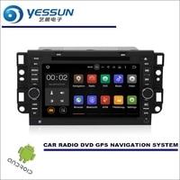 YESSUN Wince/Android Mediów Car Audio Wideo Dla Pontiac G3/G3 Fali 2002 ~ 2011 CD Odtwarzacz DVD GPS Navi Radio Stereo HD