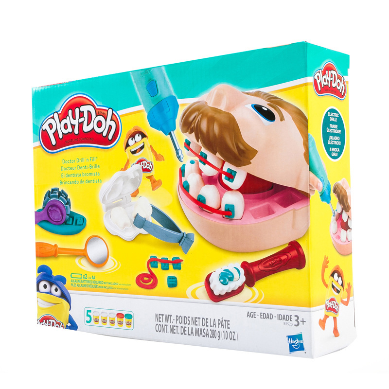 Doctor Dentist Pretend Game Treat Doctor Plasticine Slime Toys In Doctor Game Toys For Kids