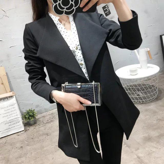 Mulheres blazer e jaqueta casual moda bleiser mujer 2016 branco blaser feminino casaco preto slim fit senhora do escritório veste femme blazer
