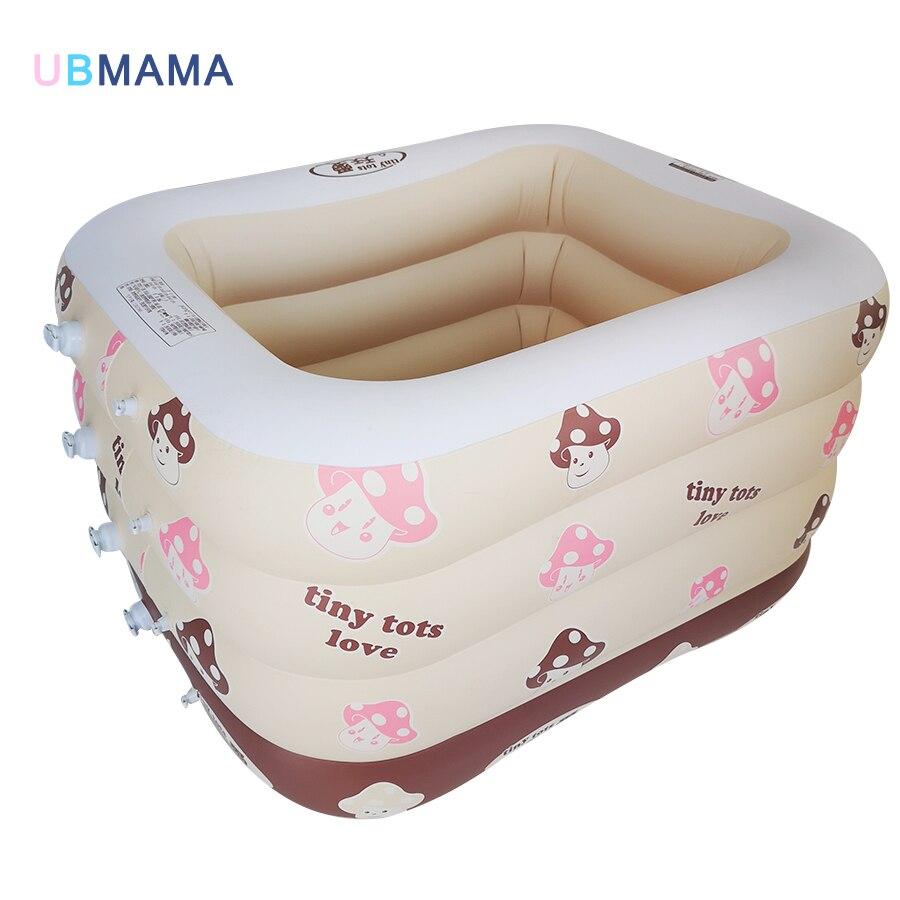 4th plancher isolation gonflable carré plastique sécurité fond gonflable pas d'odeur bébé nageur nouveau-nés bébé baignoire piscine