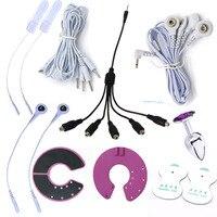 ديي المهنية صدمة كهربائية منصات الصدر ، الصدمة الكهربائية الشرج المكونات ، 1 إلى 5 كابل الطبية تحت عنوان اللعب الجنسية