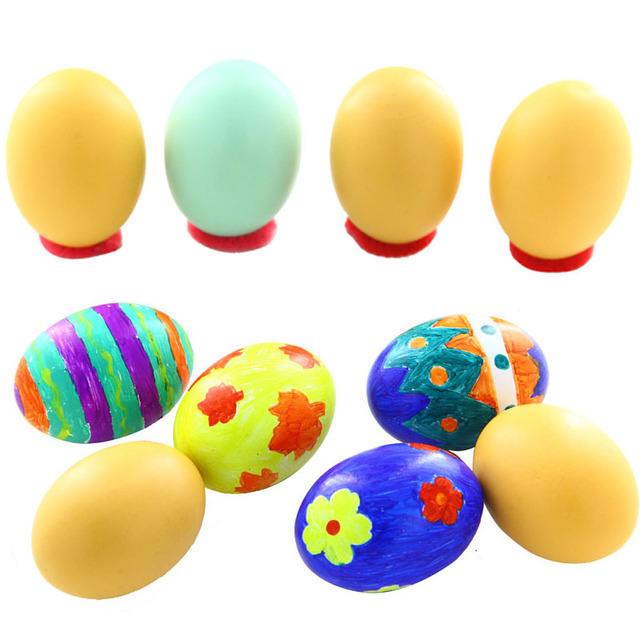 Child solid wood easter eggs ducks goose egg simulation easter child solid wood easter eggs ducks goose egg simulation easter eggs toy gifts easter events party negle Choice Image