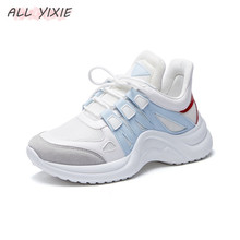 ALL YIXIE 2019 New Fashion Women Casual Sneakers Trends Ins