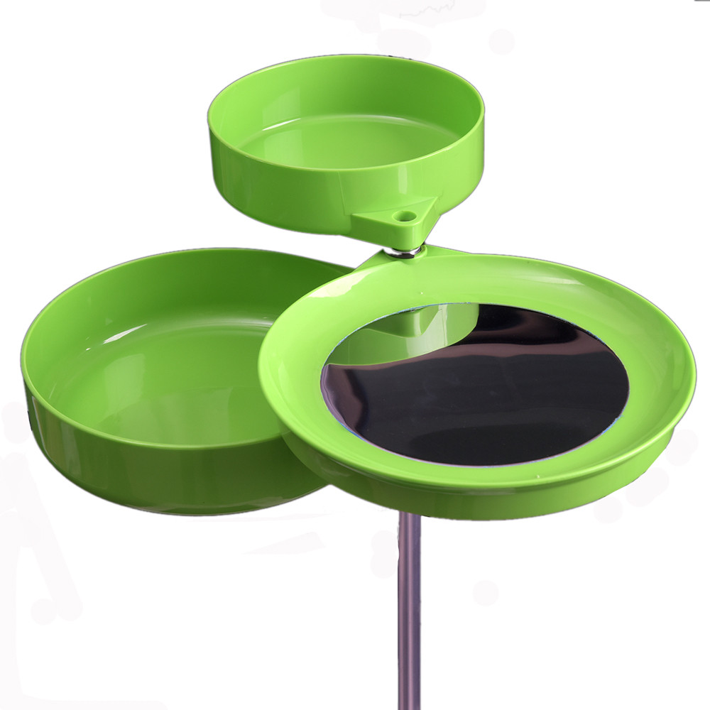 LEO Semimagnetic Green Pull Bait Tray Insert Pole type fast food tray(China)